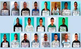 """Tribunal absuelve 22 pandilleros de """"la 18"""" acusados de 27 asesinatos"""