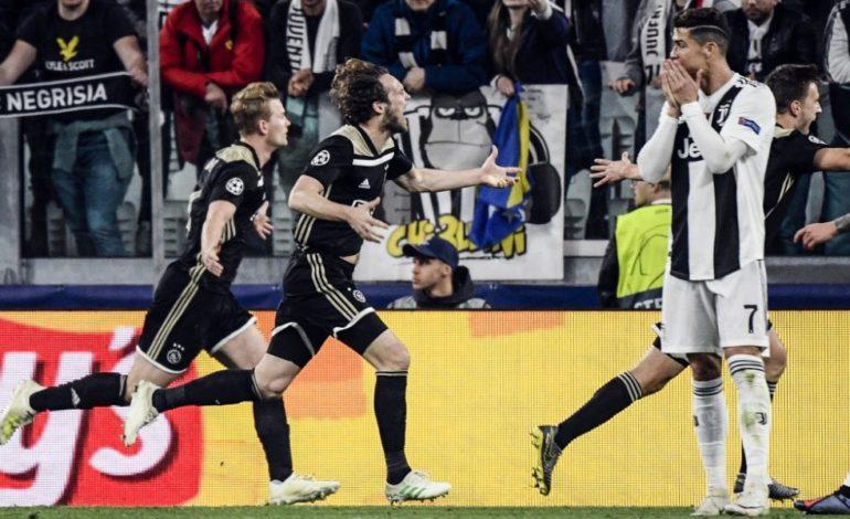 Ajax hace historia eliminando a la Juve de Cristiano
