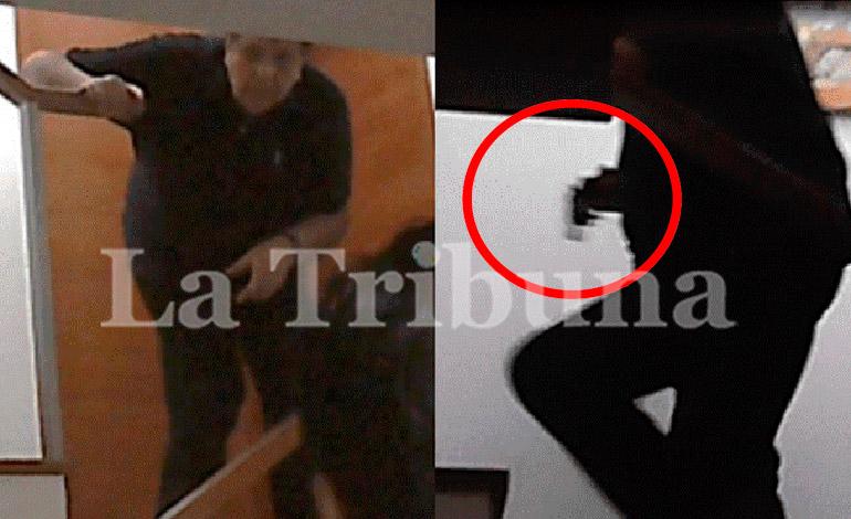 Alan García tenía un arma cuando fiscal y policías fueron a detenerlo (Video)