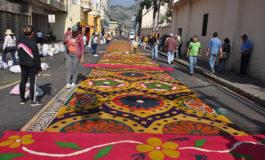 Arte y fe cristiana en alfombras religiosas
