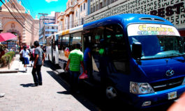 Un 60% cae afluencia en transporte urbano