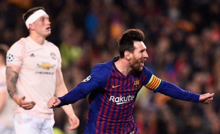 Messi conduce al Barça a semifinales en cuatro minutos