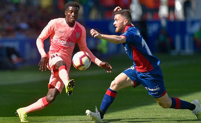 Un Barça 'B' empata con el colista