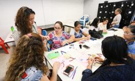 Alcaldía imparte a mujeres taller de joyería avanzada