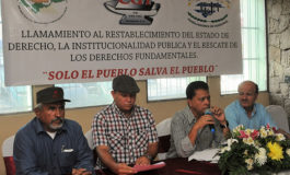 Centrales obreras exigen justicia en el caso del IHSS
