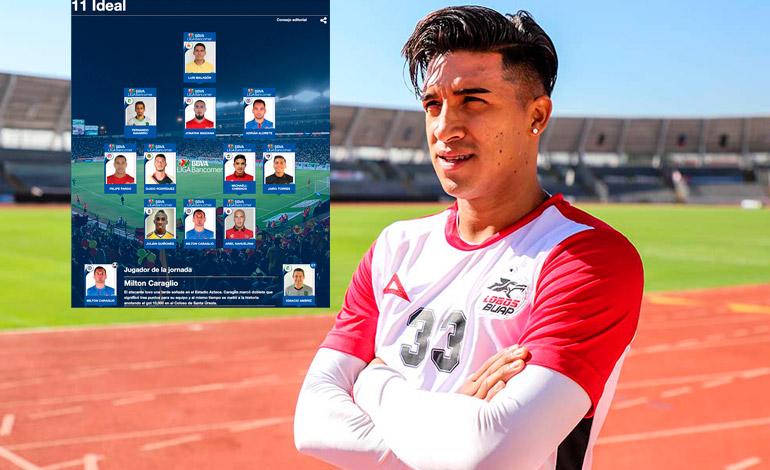 Michael Chirinos en el once ideal de la Liga MX