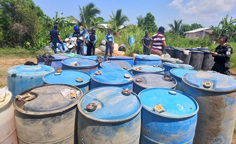 Desmantelan red de tráfico de combustible adulterado