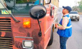 Cuatro unidades de transporte son decomisadas por el IHTT