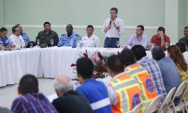 """Hernández en Santa Rosa de Copán: """"No hay turismo floreciente sin confianza para movilizarse"""""""