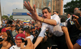 Guaidó convoca a marcha para pedir a militares apoyo para la salida de Maduro