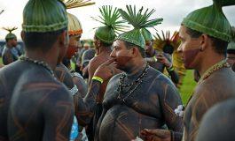 Indígenas defienden en Brasilia sus derechos