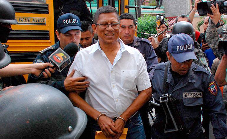 Expediente de exoficial Jorge Alberto Barralaga llega al Tribunal de Sentencia