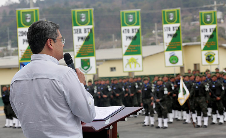 """Presidente Hernández: """"A la época de terror no vamos a regresar"""""""