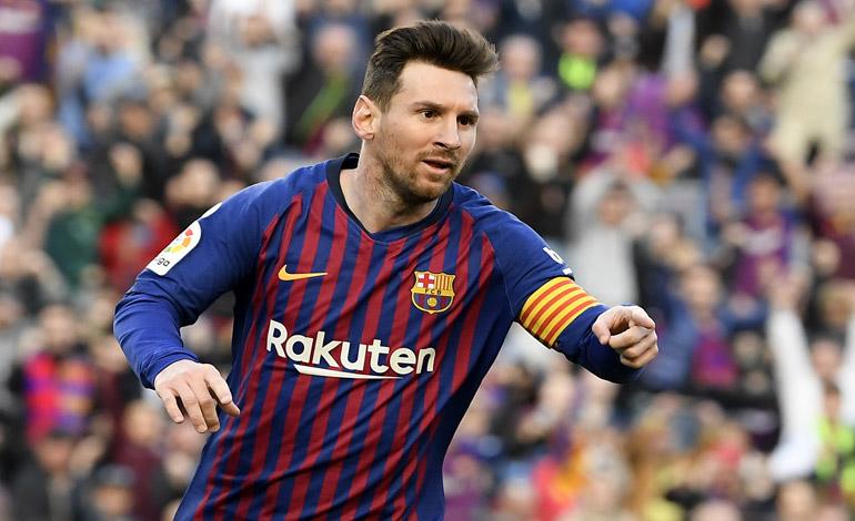 "Messi ""perfectamente"" recuperado del golpe para enfrentarse al Manchester United"