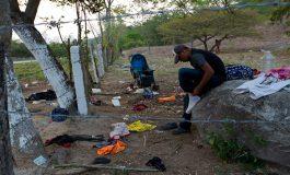 Migrantes temerosos tras redada de agentes en sur de México