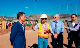 Misión FIFA supervisó avances en proyecto El Birichiche