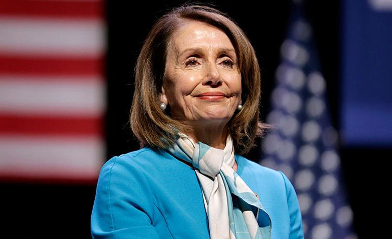 Nancy Pelosi galardonada