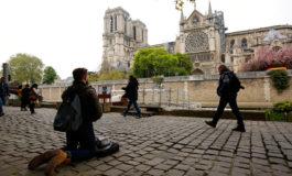 Fuego en Notre Dame apagado y varios tesoros casi intactos
