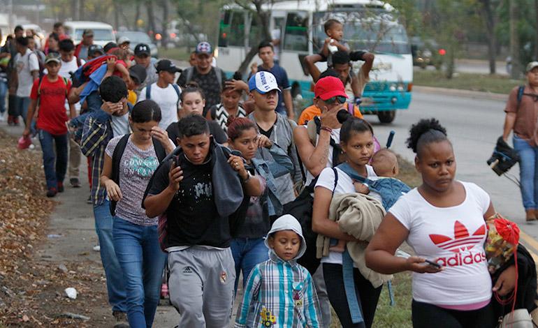 Ola de migrantes sin solución a la vista