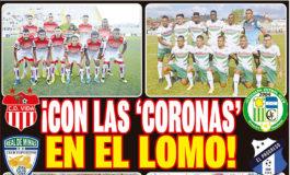 ¡CON LAS 'CORONAS' EN EL LOMO!