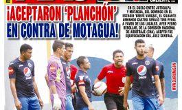 ¡ACEPTARON 'PLANCHÓN' EN CONTRA DE MOTAGUA!