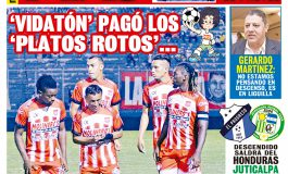 'VIDATÓN' PAGÓ LOS 'PLATOS ROTOS'...
