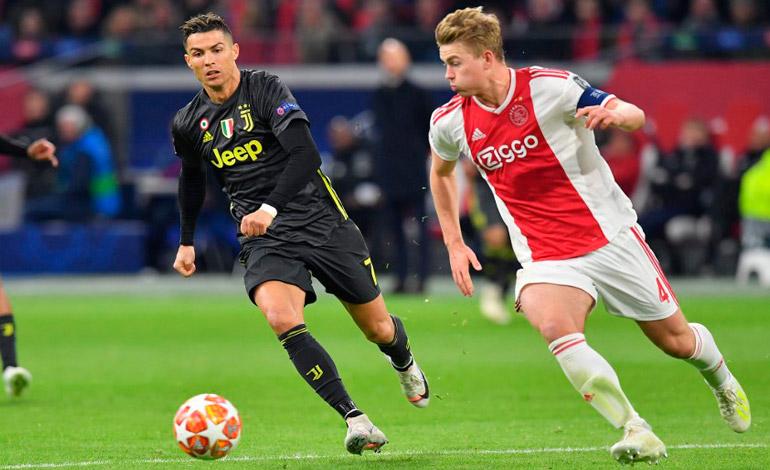 Ronaldo salva a una Juventus que sufrió ante el fútbol descarado del Ajax