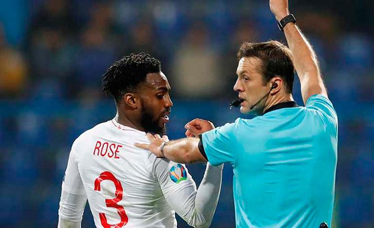 El internacional inglés Danny Rose piensa en la retirada debido al racismo