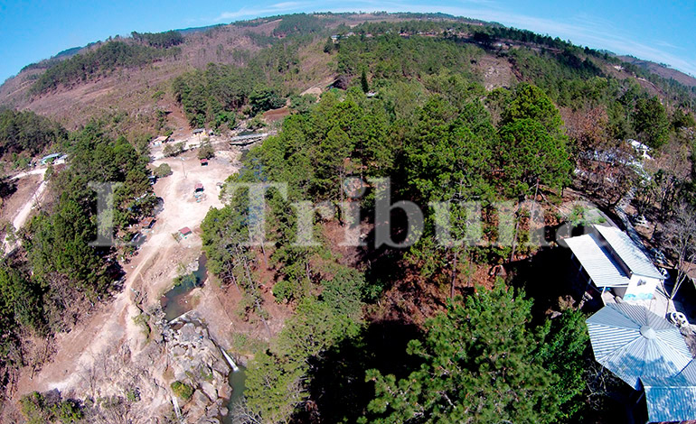 San Matías queda a solo 12 kilómetros de Tegucigalpa