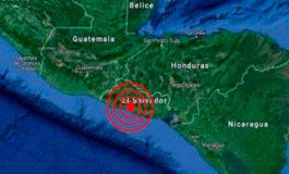 Sismo de magnitud 4,6 sacude el suroeste de El Salvador