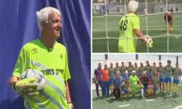 Portero israelí de 73 años se convierte en el futbolista más veterano del mundo