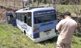 Asalto a un autobús deja un muerto y dos heridos en Yoro