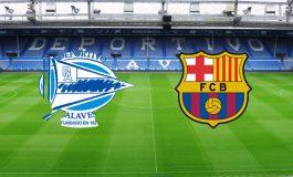 Segundo tiempo: Alavés (0) Barcelona (0)