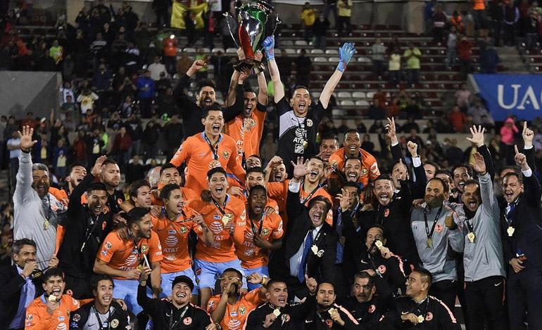 América vence a Juárez y se consagra campeón de Copa del fútbol mexicano