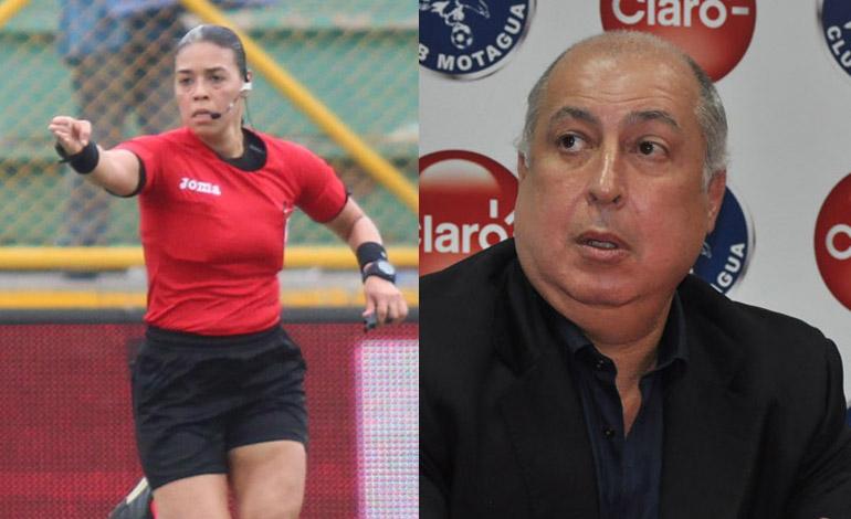 Presidente de Motagua opina del trabajo de Melissa Borjas