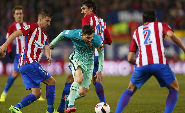 Barcelona – Atlético, duelo para sentenciar o avivar la Liga