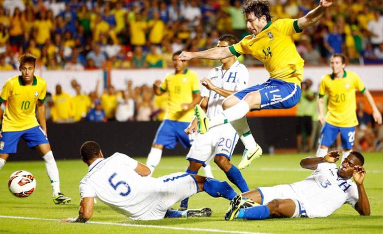 Medios brasileños confirman amistoso ante Honduras