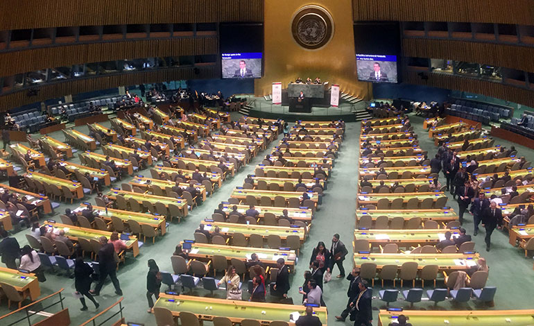 Grupo de Lima se retira cuando habla representante de Maduro