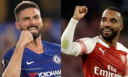 Arsenal-Valencia y Eintracht-Chelsea, semifinales de Europa League