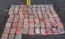 Escáner de Guatemala no deja pasar 73 paquetes de cocaína