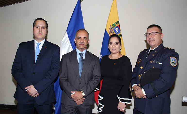 Recepción de cortesía y agradecimiento ofrece embajada de Venezuela acreditada en Honduras