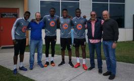 Coito explica su visita a catrachos del Houston Dynamo
