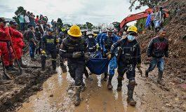 Al menos 17 muertos y 13 desaparecidos por deslave en suroeste de Colombia