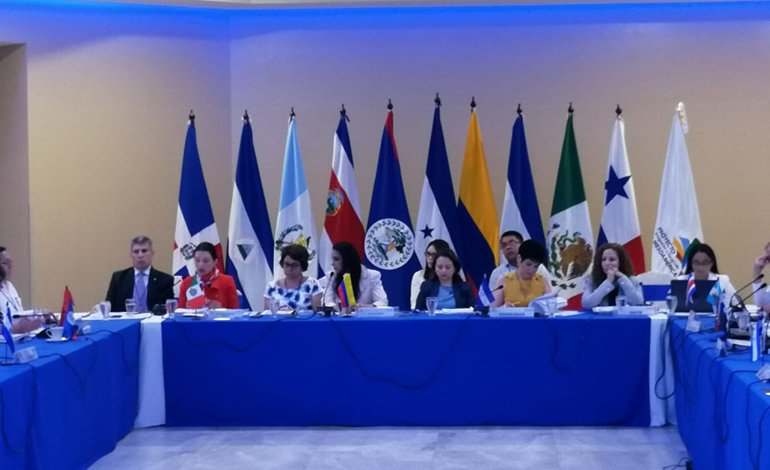 Finaliza con importantes avances cita preparatoria para cumbre mesoamericana