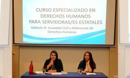Mecanismo de Protección un paso muy importante en materia de protección a defensores de derechos humanos