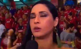 Atleta olímpica se desmaya en plena entrevista (Video)