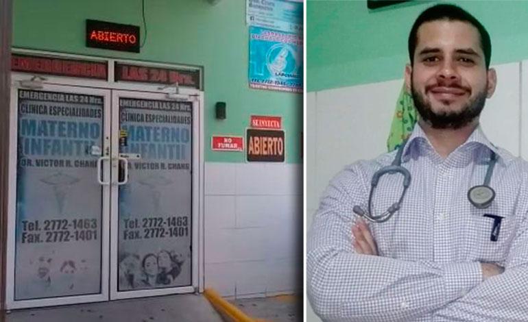Hallan muerto a doctor dentro de clínica en Comayagua