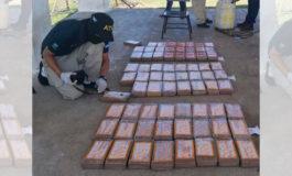 Incautan 112 kilos de cocaína a cuatro colombianos en Honduras