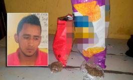 "Cae hombre que intentaba introducir droga en bolsas de ""churros"" a cárcel"