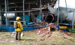 Explosión de cilindro de gas en maquila textil deja una persona muerta en Choloma